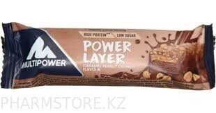 Батончик Power Layer caramel peanut crunch  flavour