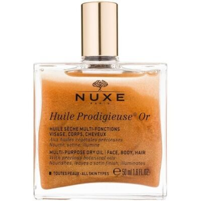 NUXE HUILE PRODIGIEUSE® OR Масло сухое Золото Новинка 2017; EX02696
